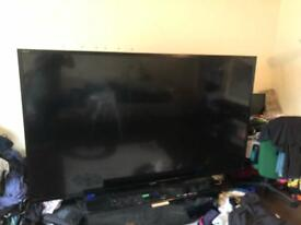 Damaged 90inc tv
