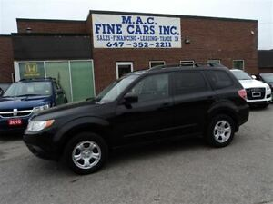2010 Subaru Forester 2.5 X AWD - CERTIFIED & E-TESTED