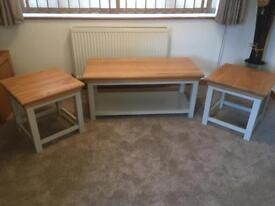Brand New Coffee Table/Lamp Tables