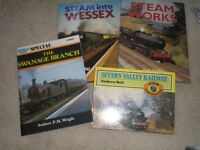 STEAM RAILWAY BOOKS - IAN ALLAN QUALITY BOOKS - JOB LOT