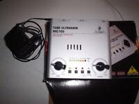 Behringer Tube Ultragain Mic100. Unused & boxed