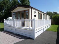 NEW 2015 ABI Elan 36ftx12ft Static Caravan Holiday Home FOR SALE sited at Little Paddock, Kinmel Bay