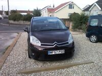 Citroen C4 Picasso auto (semi auto) diesel cruise control, 12 months mot,speed limiter, family car