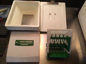 USED AUTEC MAKI MAKER AND SUZUMO NIGIRI MACHINE