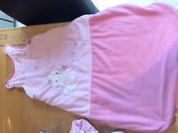Free baby sleeping bags and girls cot bedding!
