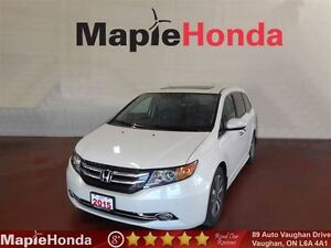 2015 Honda Odyssey Touring| Loaded, Remote Starter, DVD!