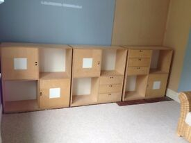 Ikea storage units....ideal for home office!