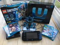 Wii u Mario Kart premium pack bundle, boxed inc. Dimensions, Lego City and Starwars