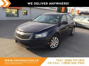 2011 Chevrolet Cruze LS GREAT ON GAS/MANUAL TRANSMISSION