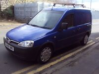 VAUXHALL COMBO 1.3 CDTI 2006 DIESEL ONLY 69K - 12 MOT, SLD, ROOF RACK, SECURITY LOCKS, TOW BAR