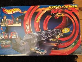 Hot Wheels Hyper Striker game boxed toys still sealed hard to find rare item Christmas present