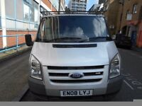 2008 FORD TRANSIT 2.2TDCI PANEL VAN 110T280LX YEAR MOT S/HISTORY ROOF RACK REAR SHELF