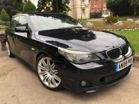 BMW 5 SERIES 525D M SPORT AUTO 2008 LCI 4 DOOR SALOON FULLY LOADED