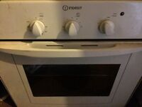 Indesit oven, hob & extractor hood
