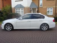 BMW 3 SERIES 2.0 320D M SPORT 4d 181 BHP SERVICE RECORD ++ BLUETOOTH BLACK DAKOTA LEATHER ++