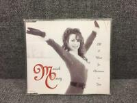 Rare Mariah Carey original CD single All I Want For Christmas Is You very good condition 90s SDHC