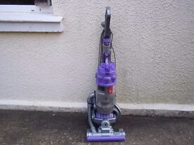 DYSON DC15 BALL UPRIGHT BAGLESS VACUUM WITH TOOLS, CLEANED & WORKING