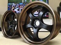 Work Wheels 19 Alloys Rims Deep Dish Wide