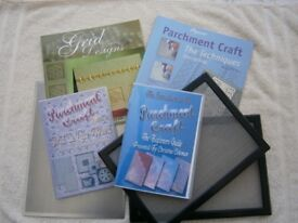 Parchment Books, D.V.D.s and Grids