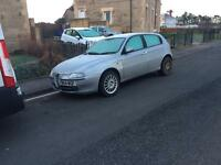 Alfa Romeo 147 spares or repair