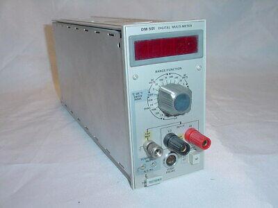 Tektronix Dm-501 Digital Multimeter Plug-in Module Dm501