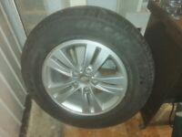 """Sportage 16"""" alloy wheel with tyre"""