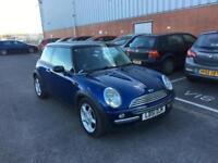 2001 Mini Cooper 1,6 litre 3dr 12 months mot