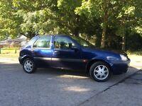 2001 Ford Fiesta 1.25 Zetec 5dr