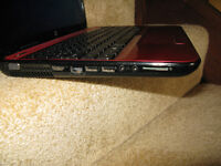 "Hp Pavilion Red 15.6"" new display, new windows 7"