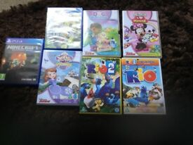 Kids dvds and PS4 games