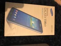 Samsung galaxy tab 3 midnight black box only