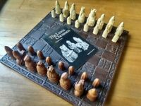 Lewis Chess Set and board