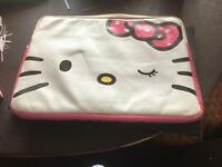 Hello kitty lap top case