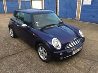 Mini One 1.6 - 2005 05 Plate - Low Mileage 41k - Full Service History - Purple Cooper
