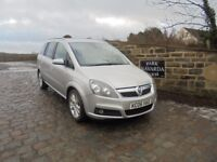 Vauxhall Zafira Design CDTi Diesel 7 Seats In Silver, Last Owner From 2008, Service History