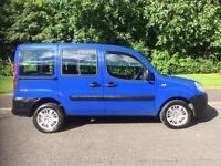 Fiat Doblo 1.9 Multijet Active 5dr NEW MOT , 58 MPG POSSIBLE 2006, Estate