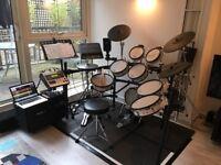 Roland V Drum TD20 Full Pro kit set up TD 20