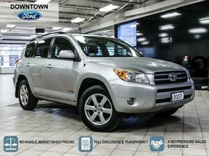 2007 Toyota RAV4 Limited, One Owner Trade in with Car Proof Veri