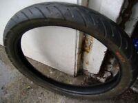 2.75 x 18 part worn tyre