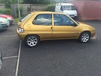 2001 Citroen Saxo 1.1 long mot cheap