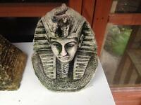 Egyptian head fish ornament