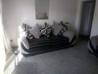 Two Large Three Seater For Sale Or swap
