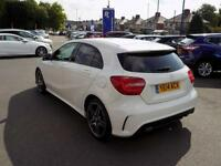 MERCEDES-BENZ A CLASS A220 2.1 CDi BLUEEFFICIENCY AMG SPORT AUTO (170) * (white) 2014