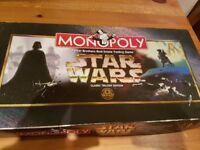 Star Wars Original Trilogy monopoly classic