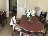Full set of dining table, chairs, units