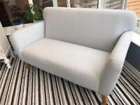 Marks and Spencer Light Grey Sofa