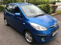 Fabulous Value And Great Condition 2009 i10 1.2 Style 5 Door Hatchback Aircon Alloys May 2018 MOT