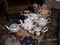 150 tea pots