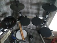 Drum lessons.