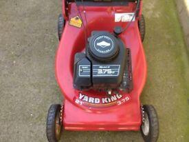 """Yard king 21"""" cut petrol lawn Mower"""